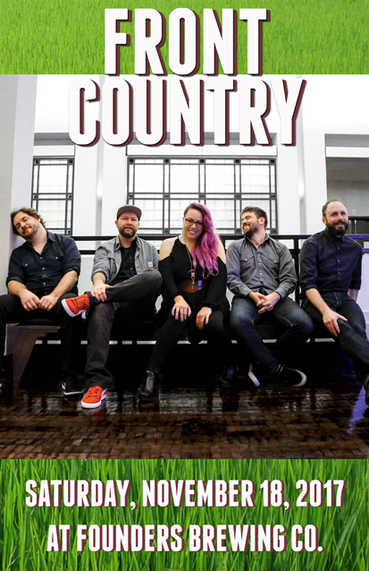Front Country band poster