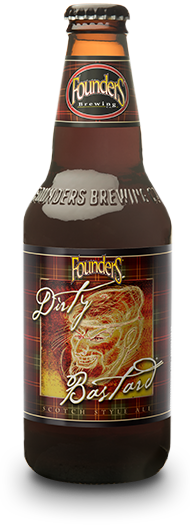 Founders Dirty Bastard bottle