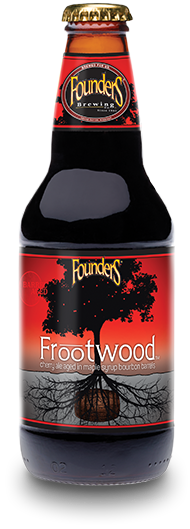 Founders Frootwood bottle