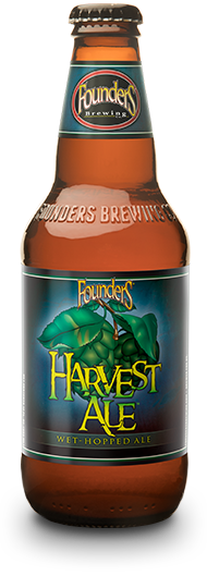Founders Harvest Ale bottle