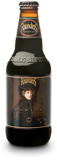 Founder's Porter bottle