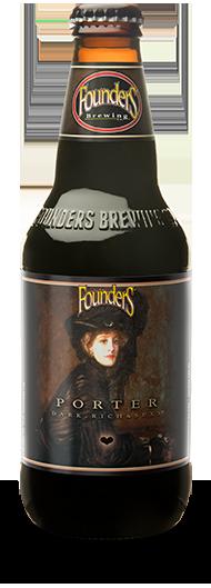 Founders Porter bottle