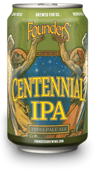 Can of Founders Centennial IPA