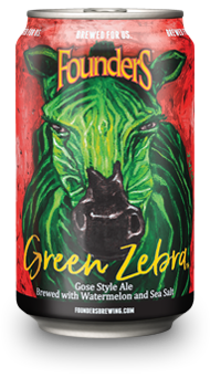 Founders Green Zebra can