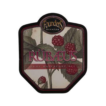 Rubaeus Sticker with raspberries