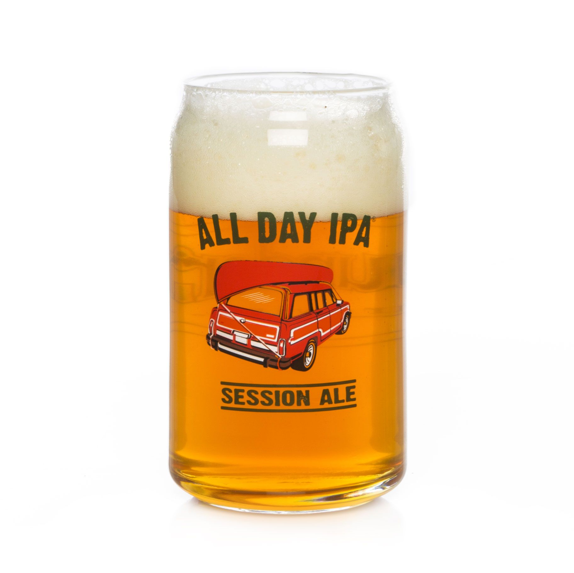Founders All Day IPA glass