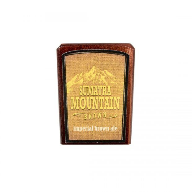 Sumatra Mountain brown Imperial Brown Ale tap