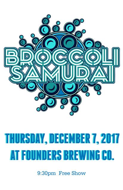 Broccoli Samurai band poster