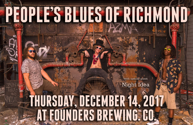 People's Blues of Richmond band poster