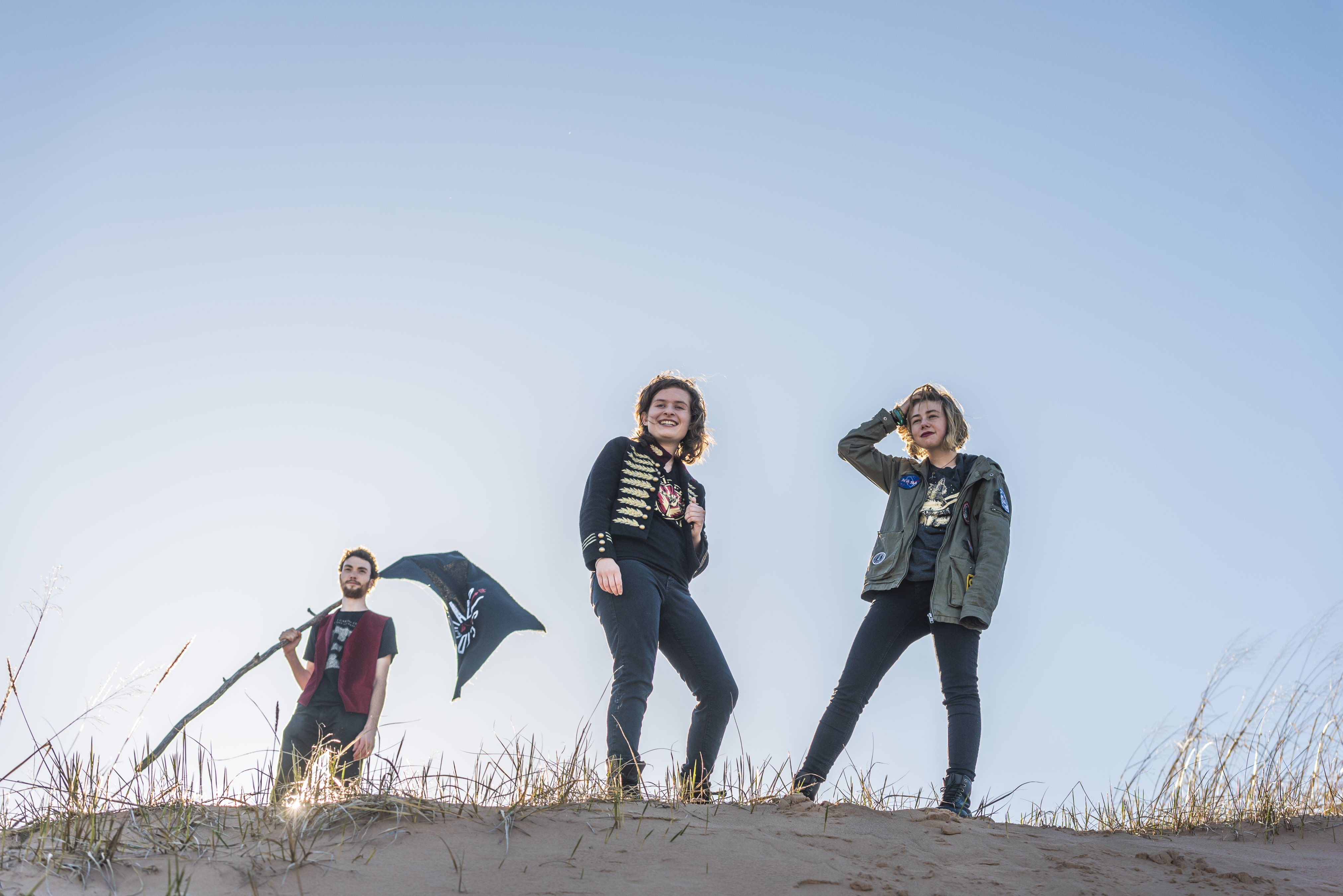 The Accidentals band members