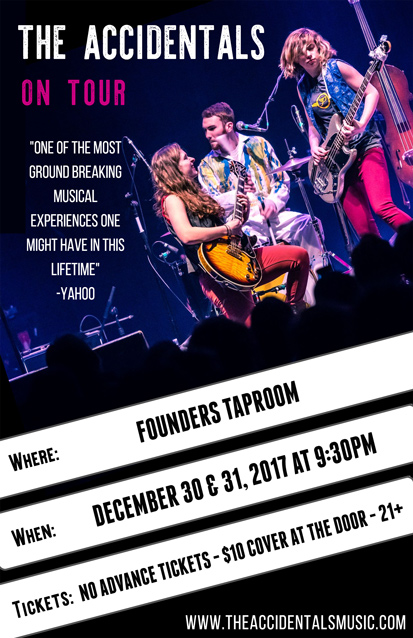 Founders promotion poster for the Accidentals