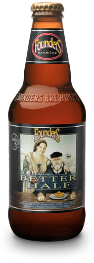 Bottle of Founders Curmudgeon's Better Half