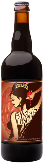 Founders Big Lushious bottle