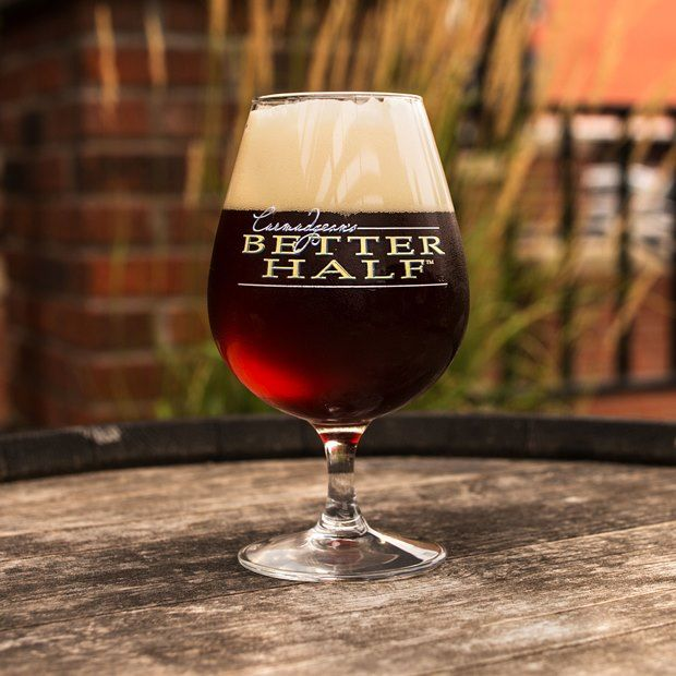 Glass of Founders Curmudgeon's Better Half