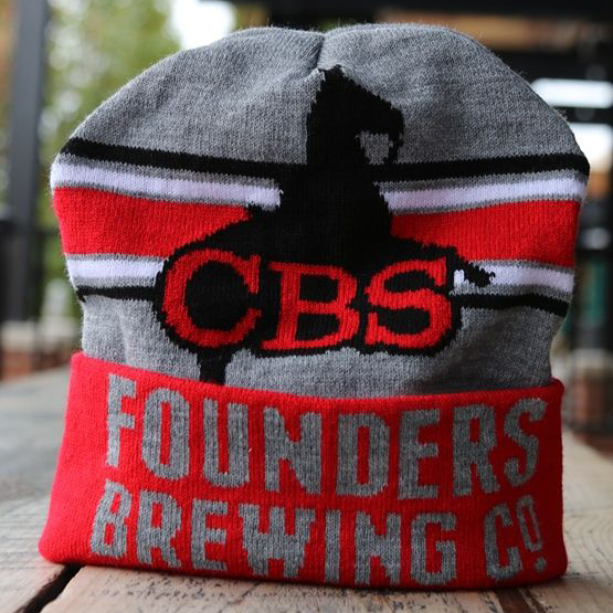 Founders Brewing Co. CBS beanie