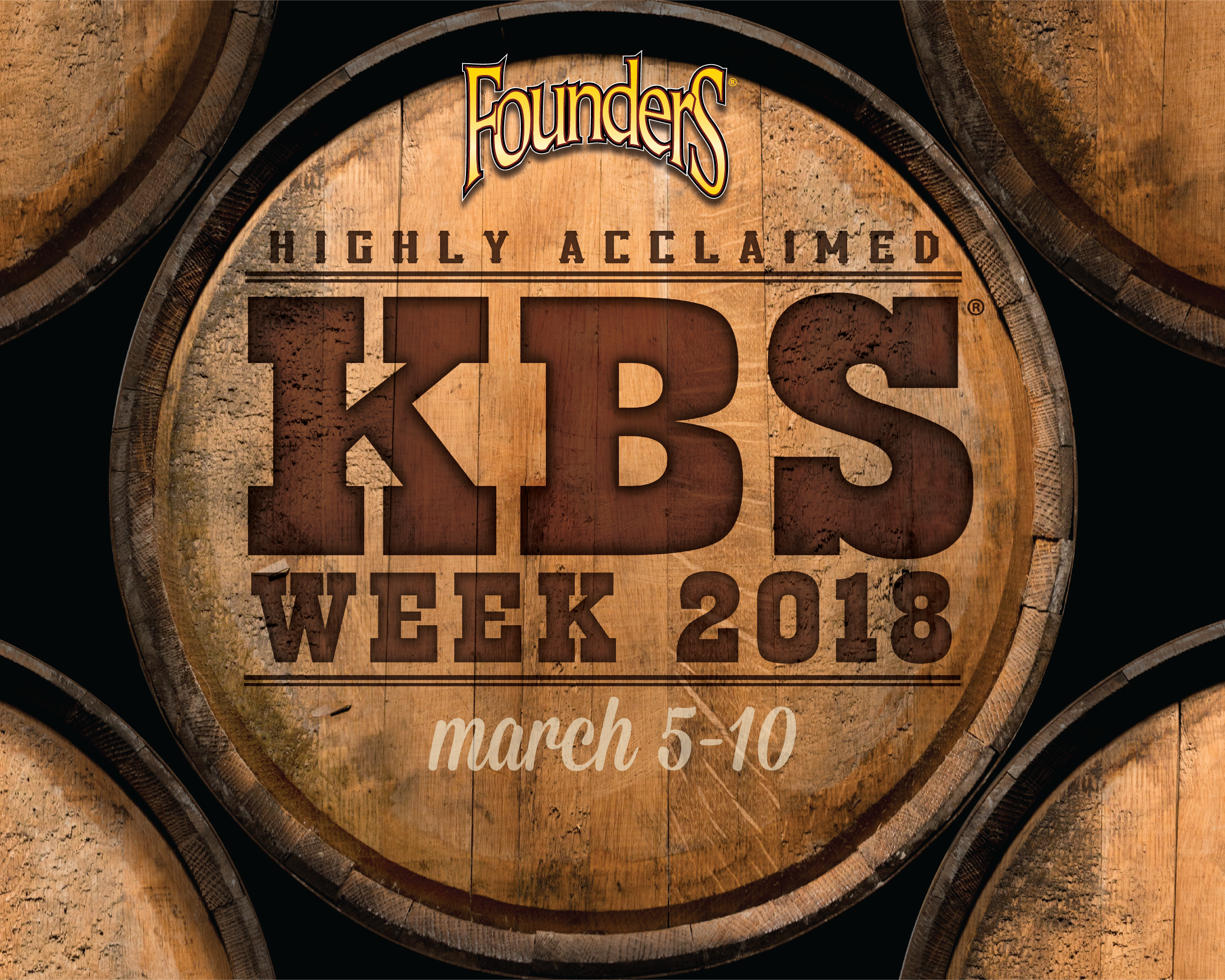 Founders KBS week 2018 promotion