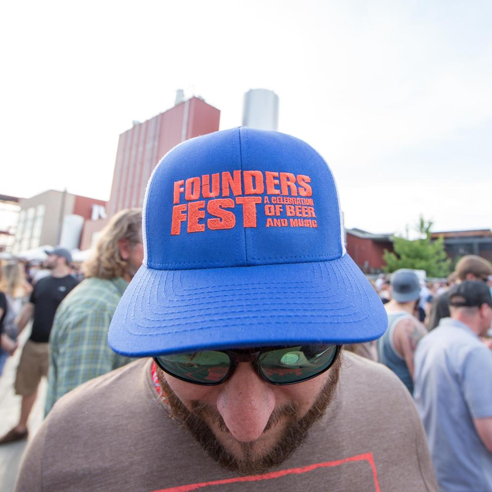 Blue Founders Fest hat