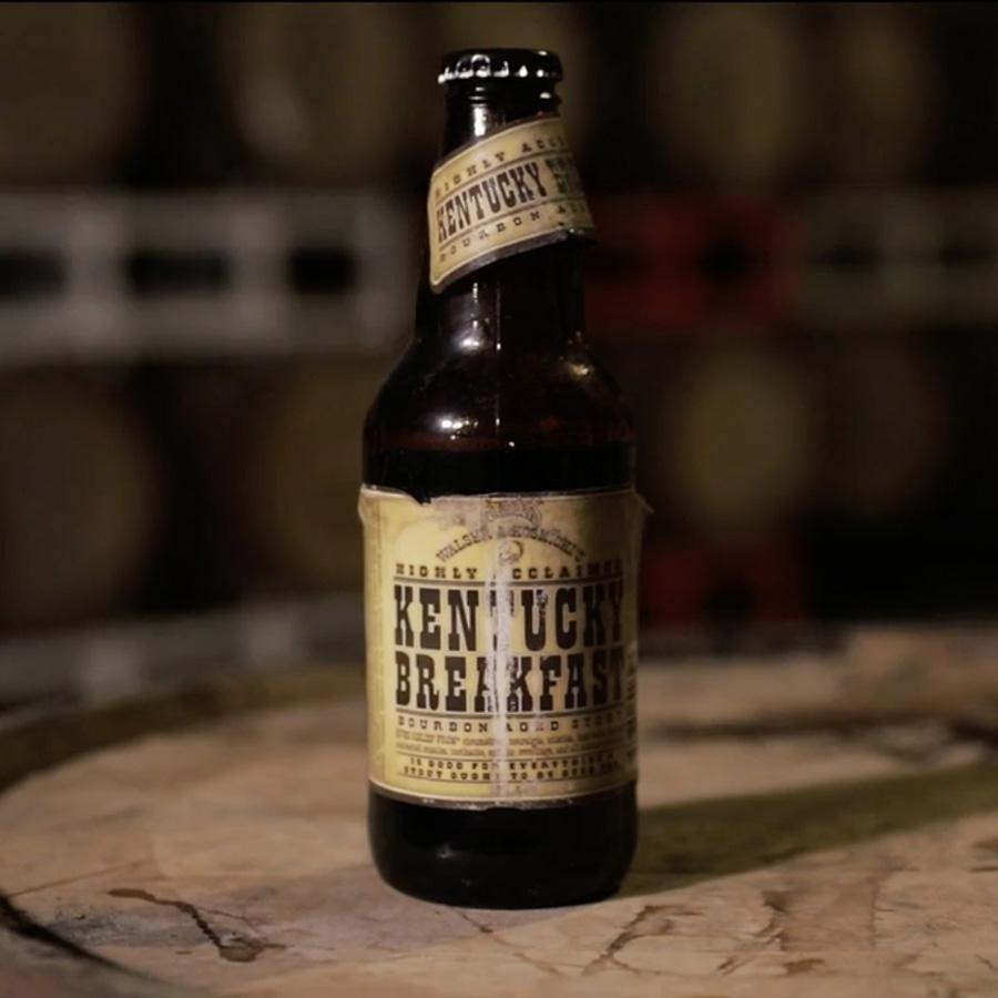 Bottle of Founders Kentucky Breakfast Stout