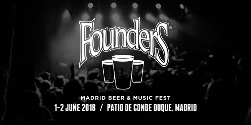 Founders Madrid Beer & Music Fest event banner