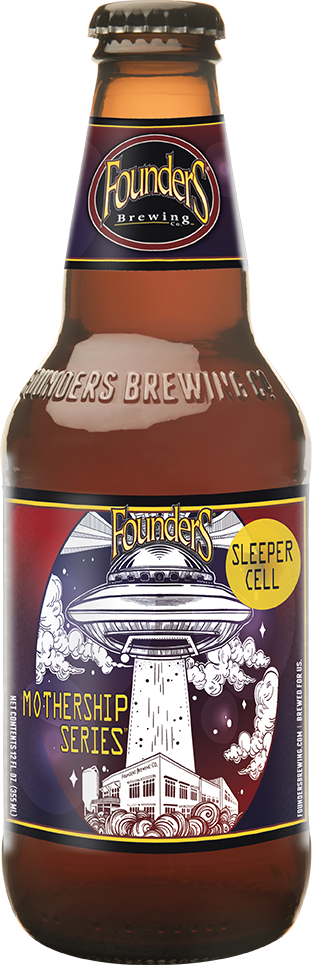 Bottle of Founders Mothership Series Sleeper Cell