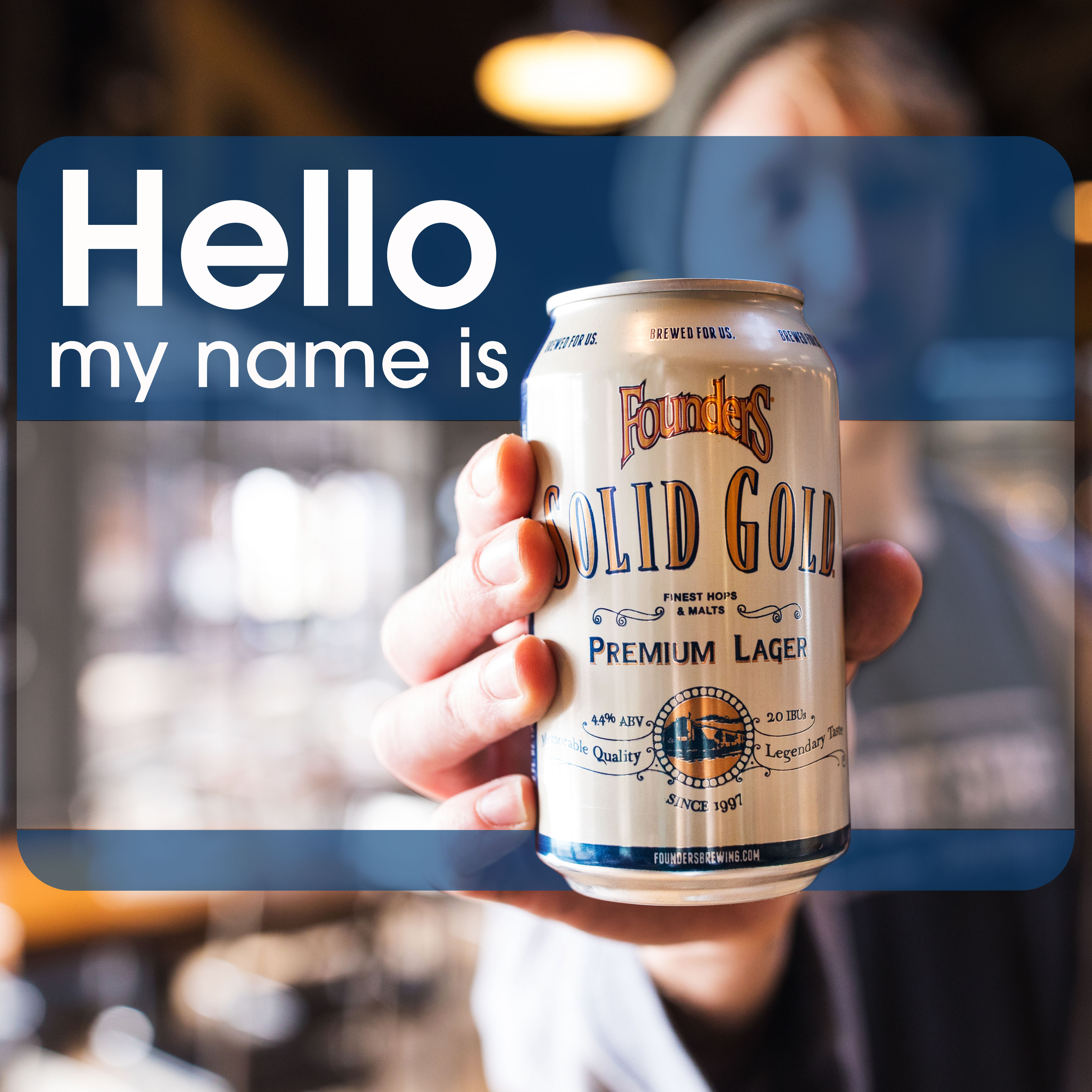Hello my name is Founders Solid Gold