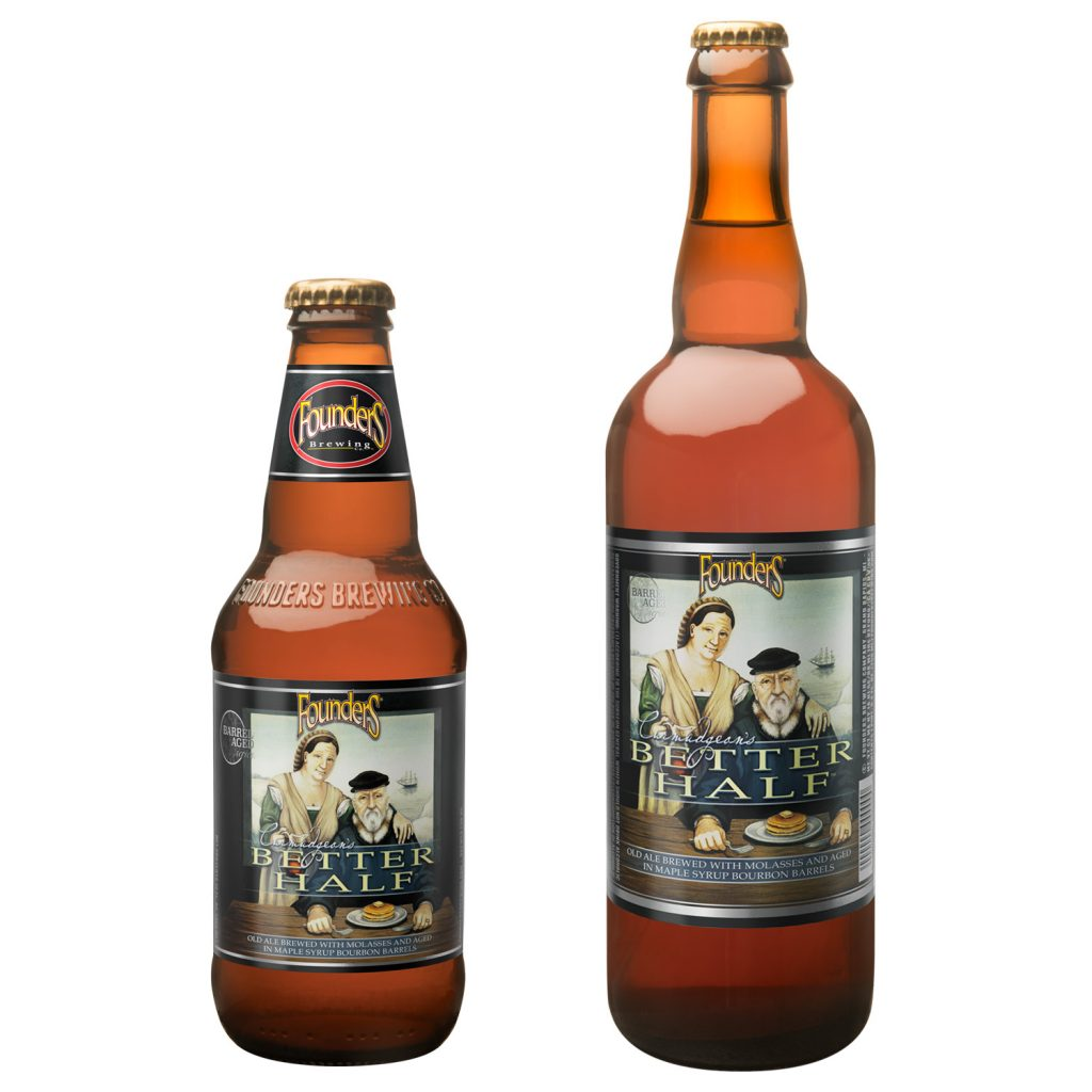 Bottles of Founders Curmudgeon's Better Half
