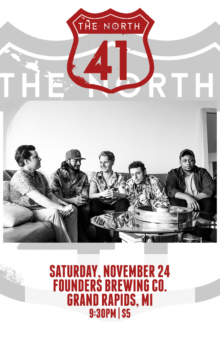 The North 41 event poster
