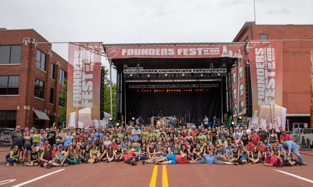 Group photo at Founders Fest 2018