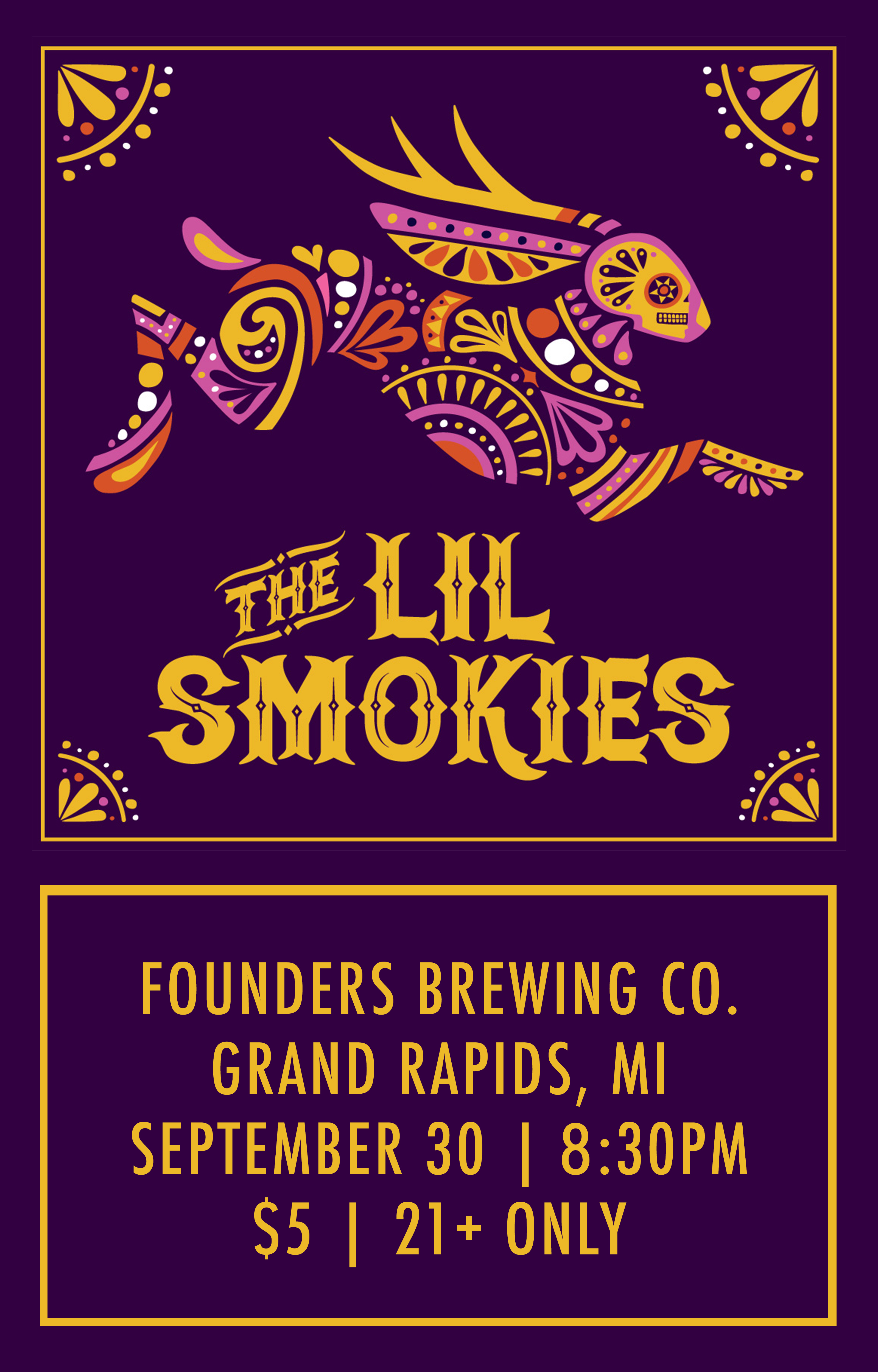 The Lil Smokies event poster