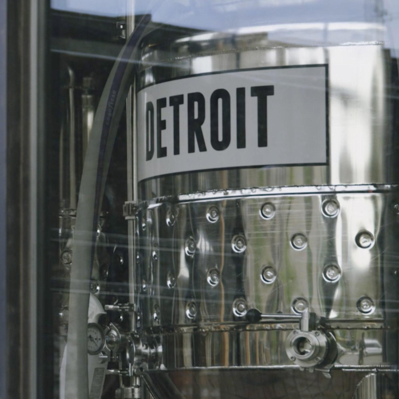 Founders Detroit Brewing vat