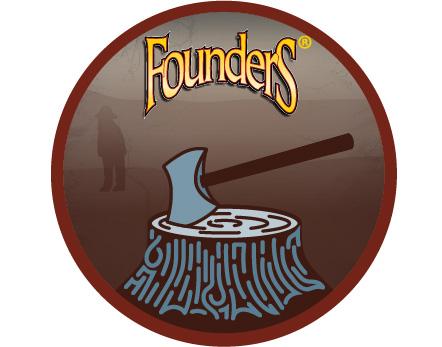 Founders Backwoods Bastard badge