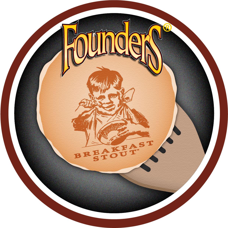 Founders Breakfast Stout badge