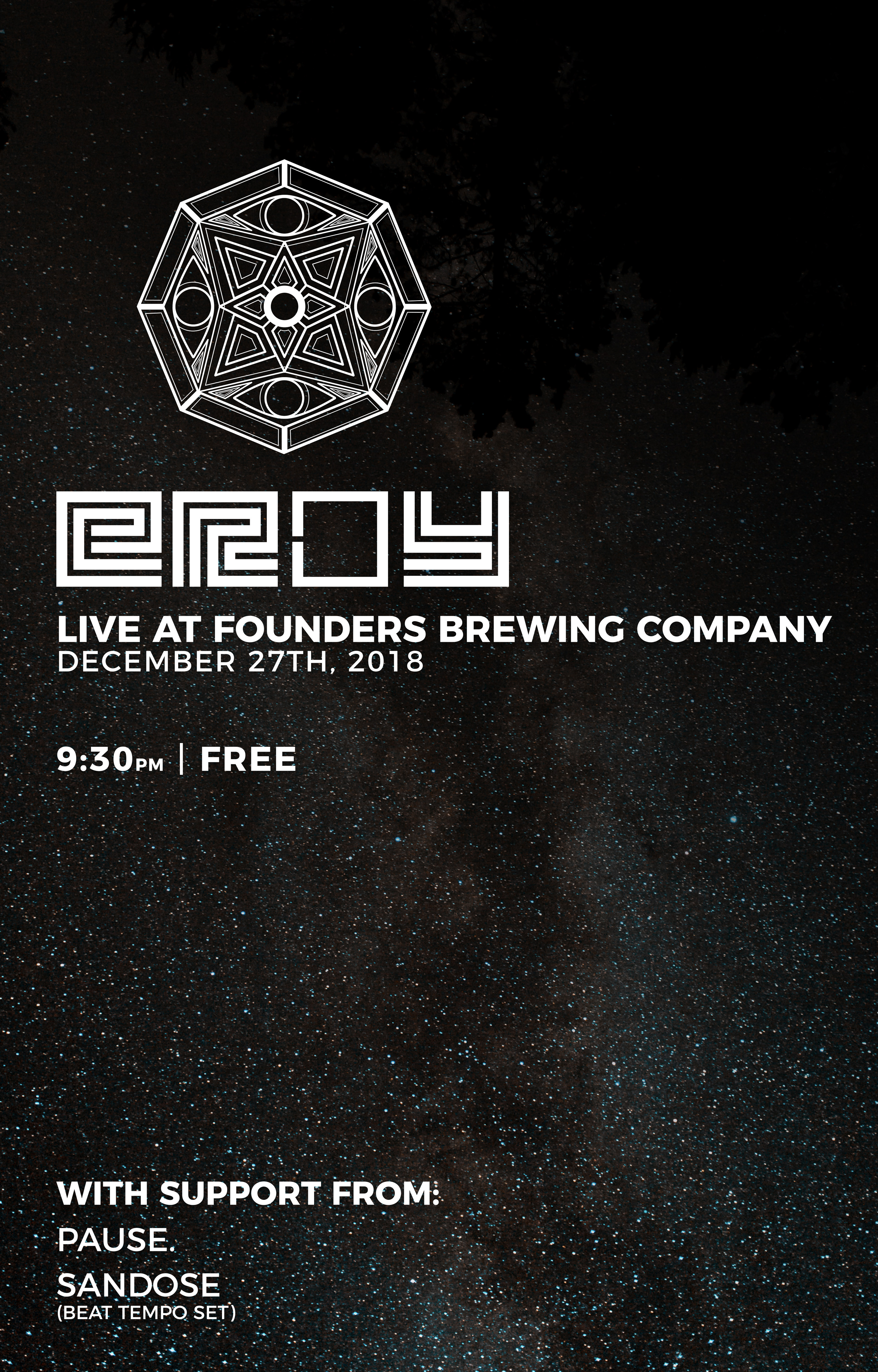 eROY event poster