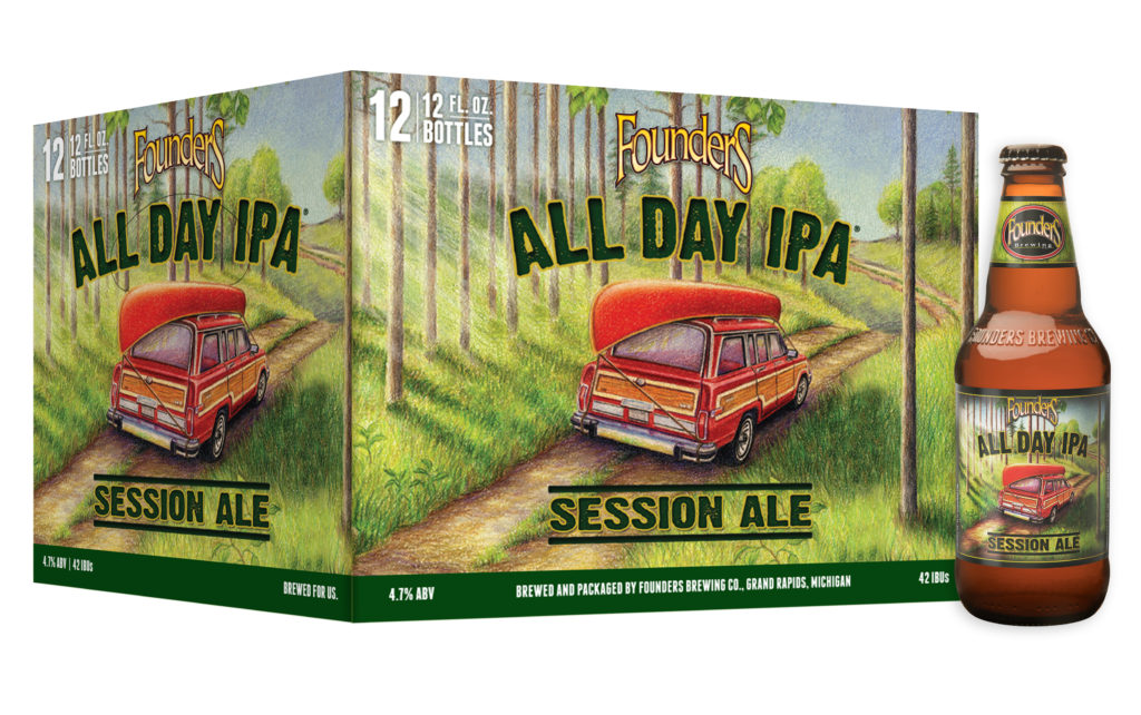 12 Pack of Founders All Dap IPA