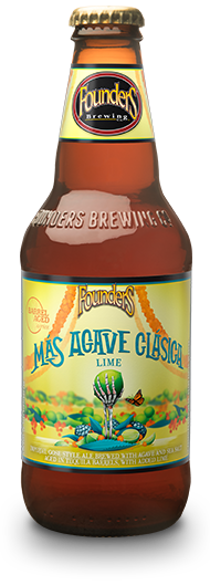 Mas Agave Clasica Lime 12 ounce bottle