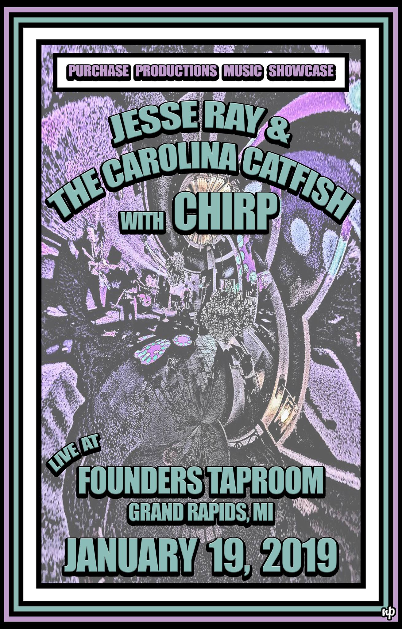 Jesse Ray & The Carolina Catfish event poster