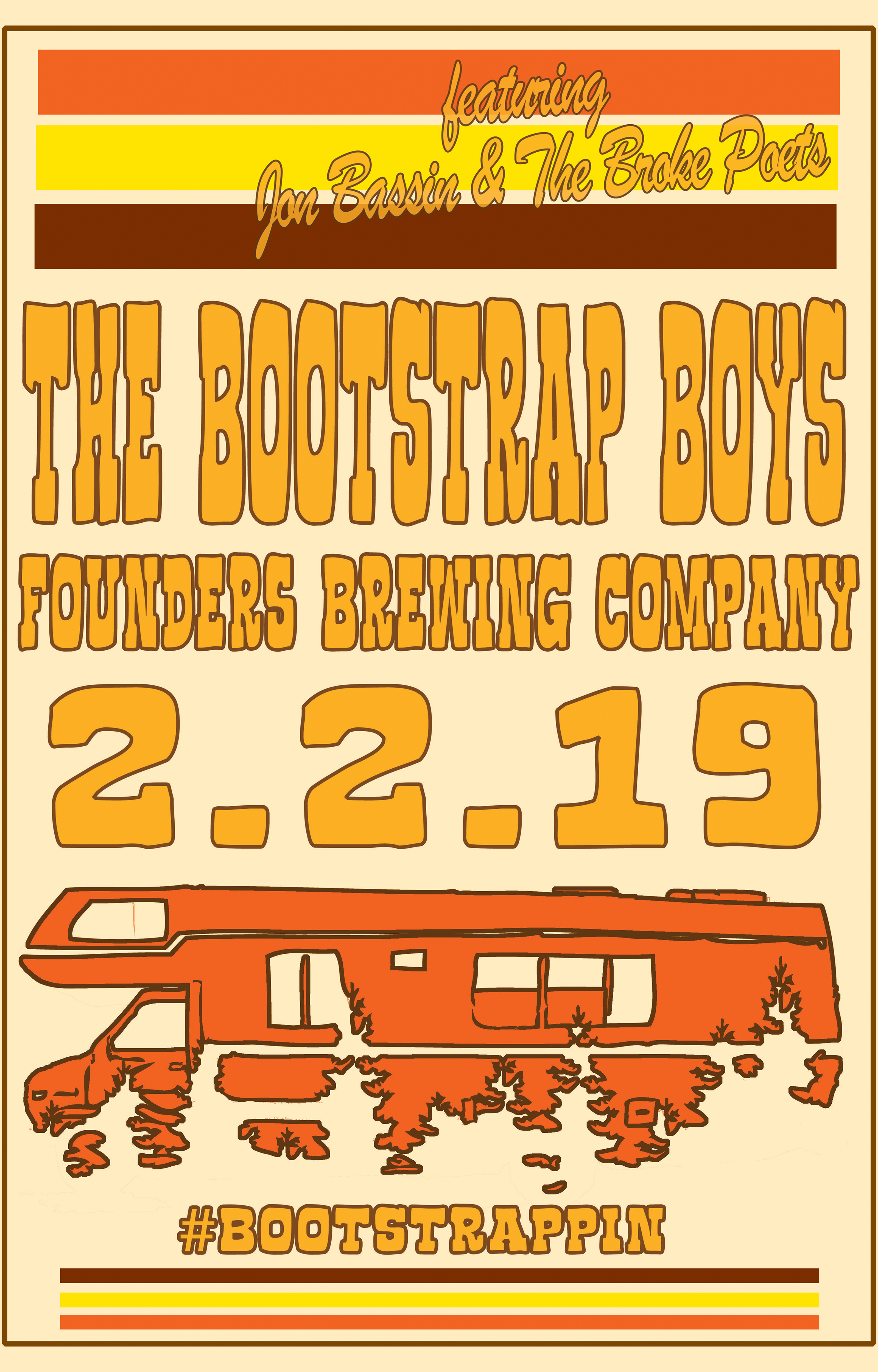The Bootstrap Boys event poster