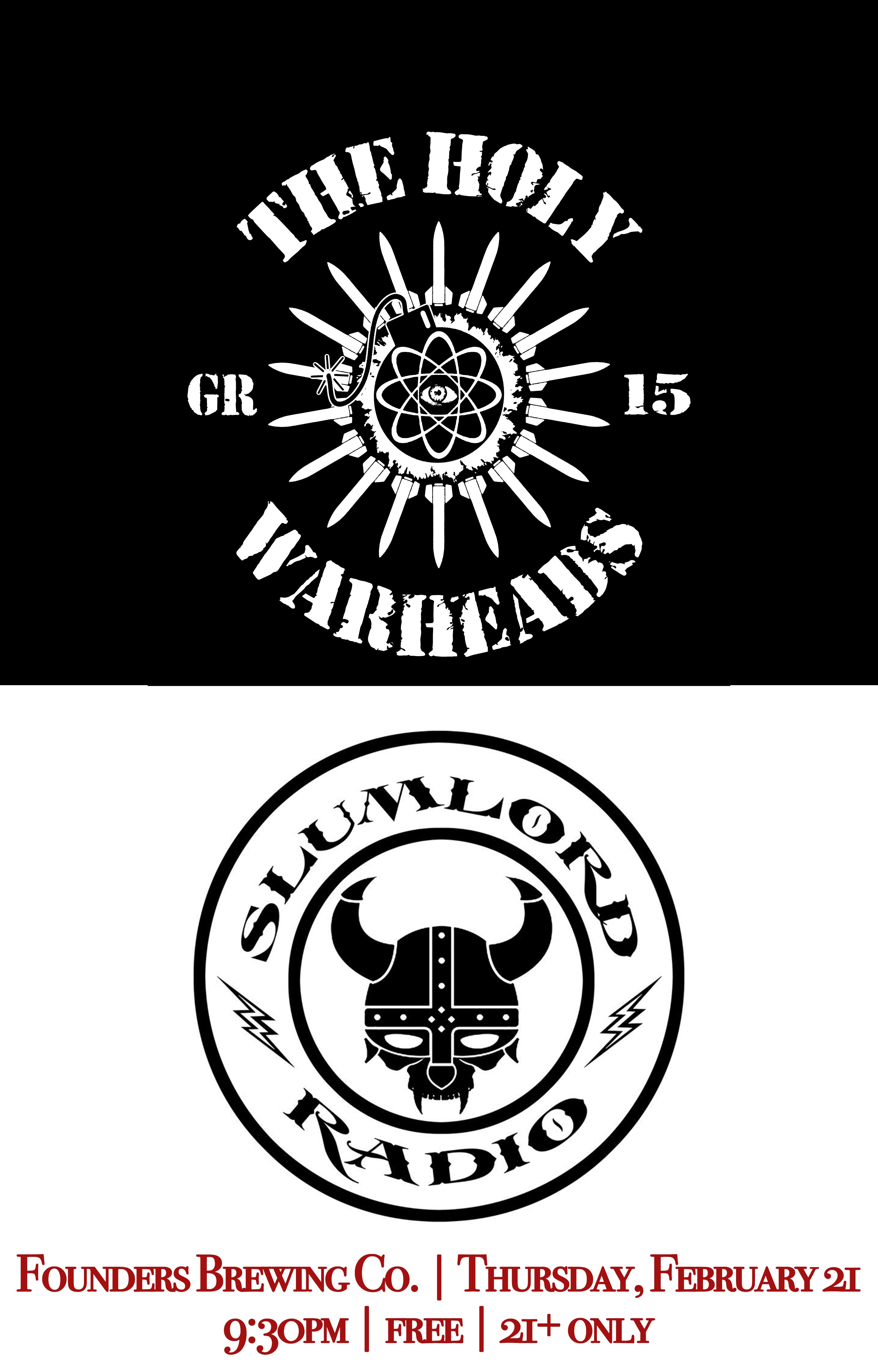 The Holy Warheads Slumlord Radio logo