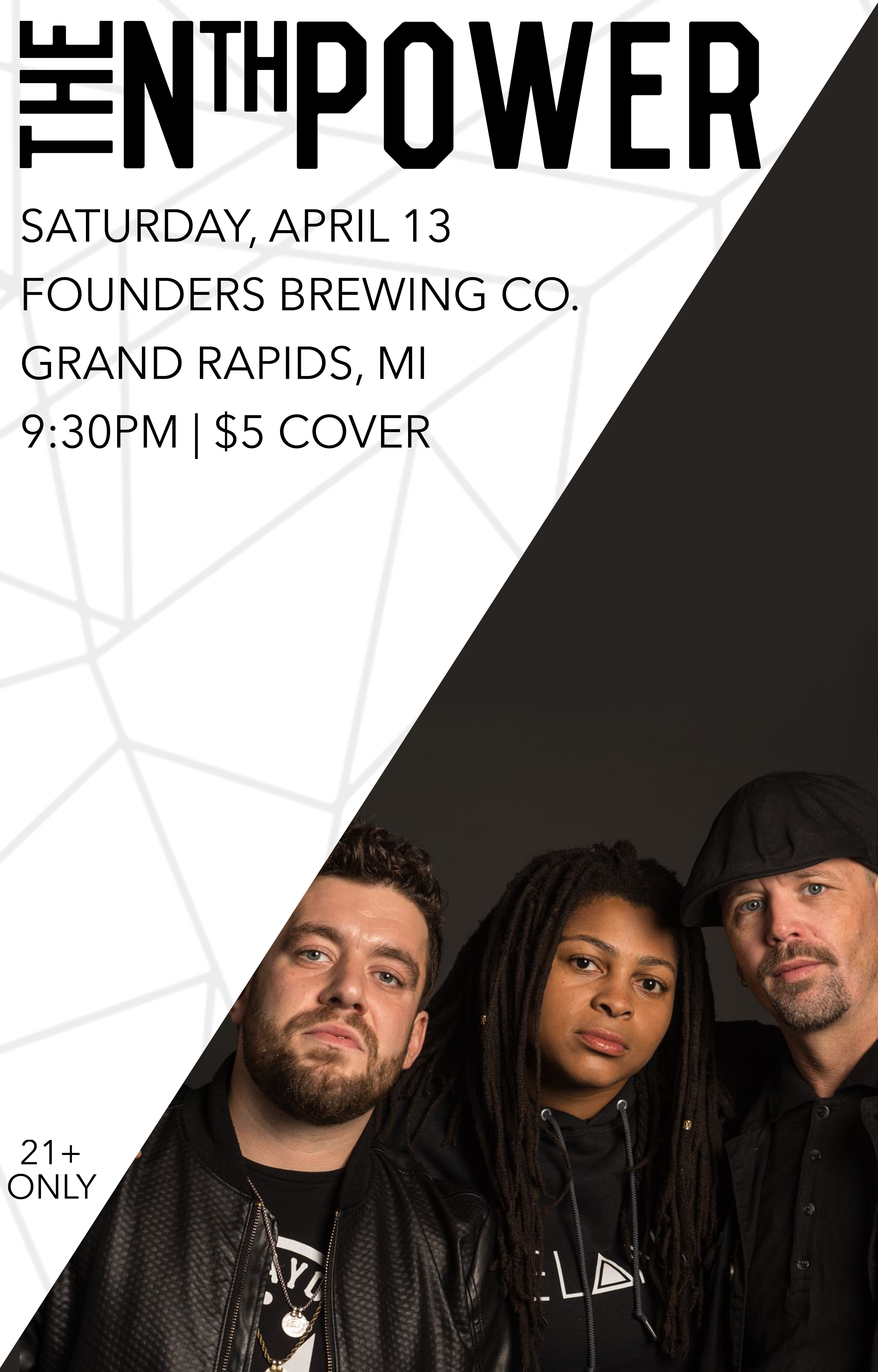 The Nth Power event poster hosted by Founders Brewing Co.