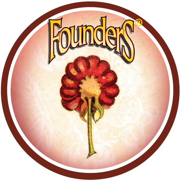 Founders Blushing Monk badge