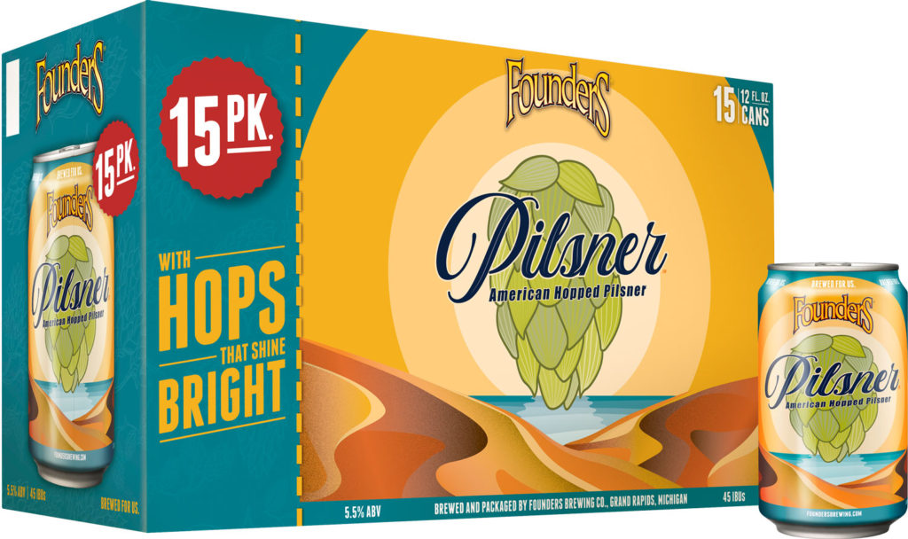 Founders Announces Pilsner's New Look