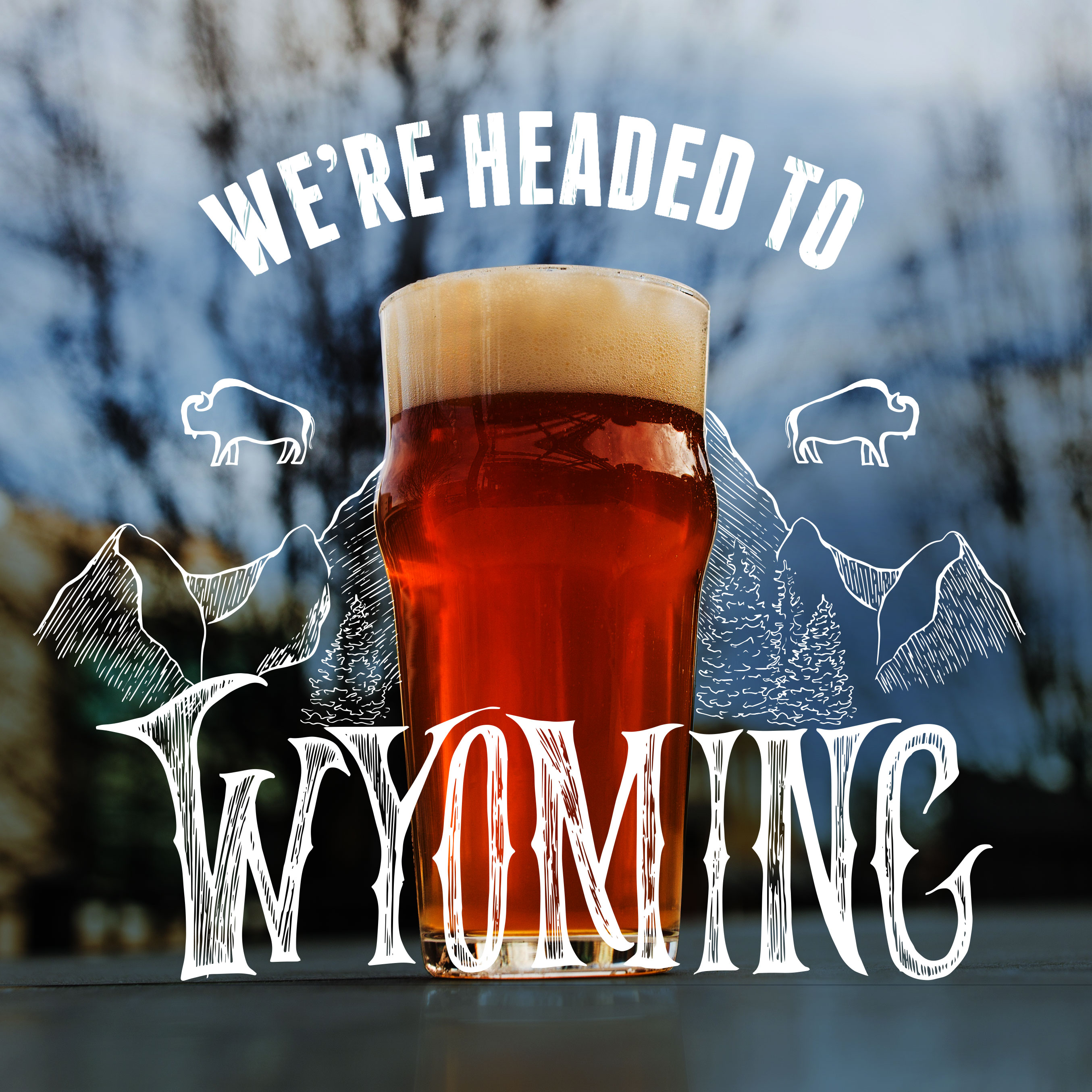 Founders We're Headed to Wyoming announcement