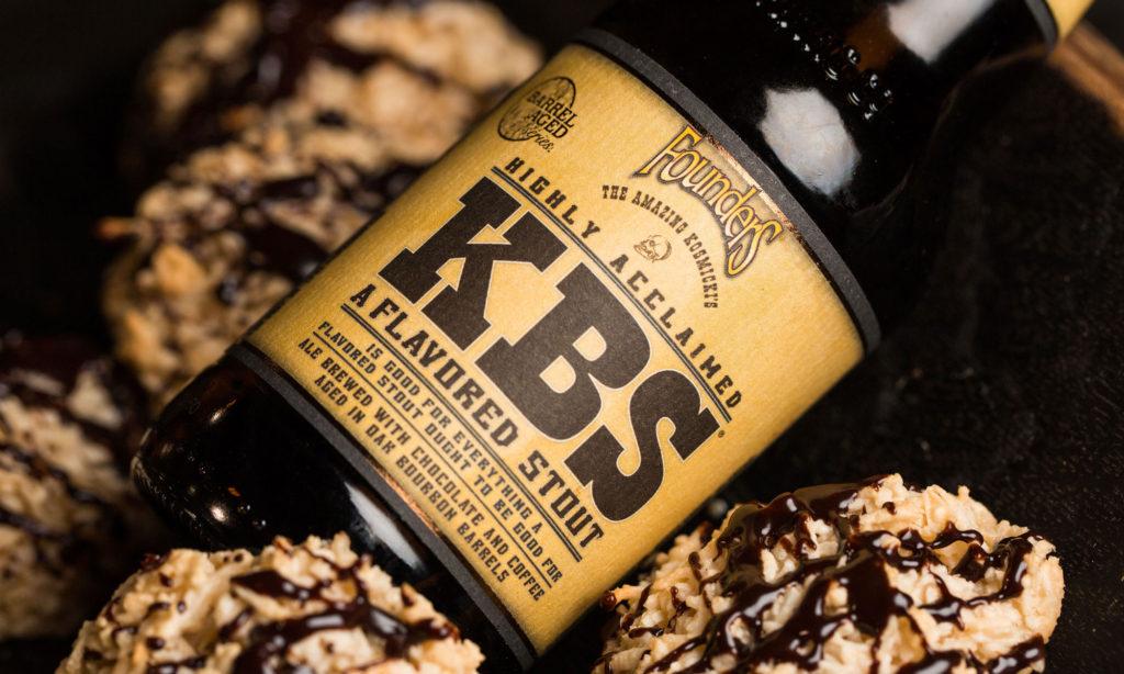 Bottle of Founders KBS