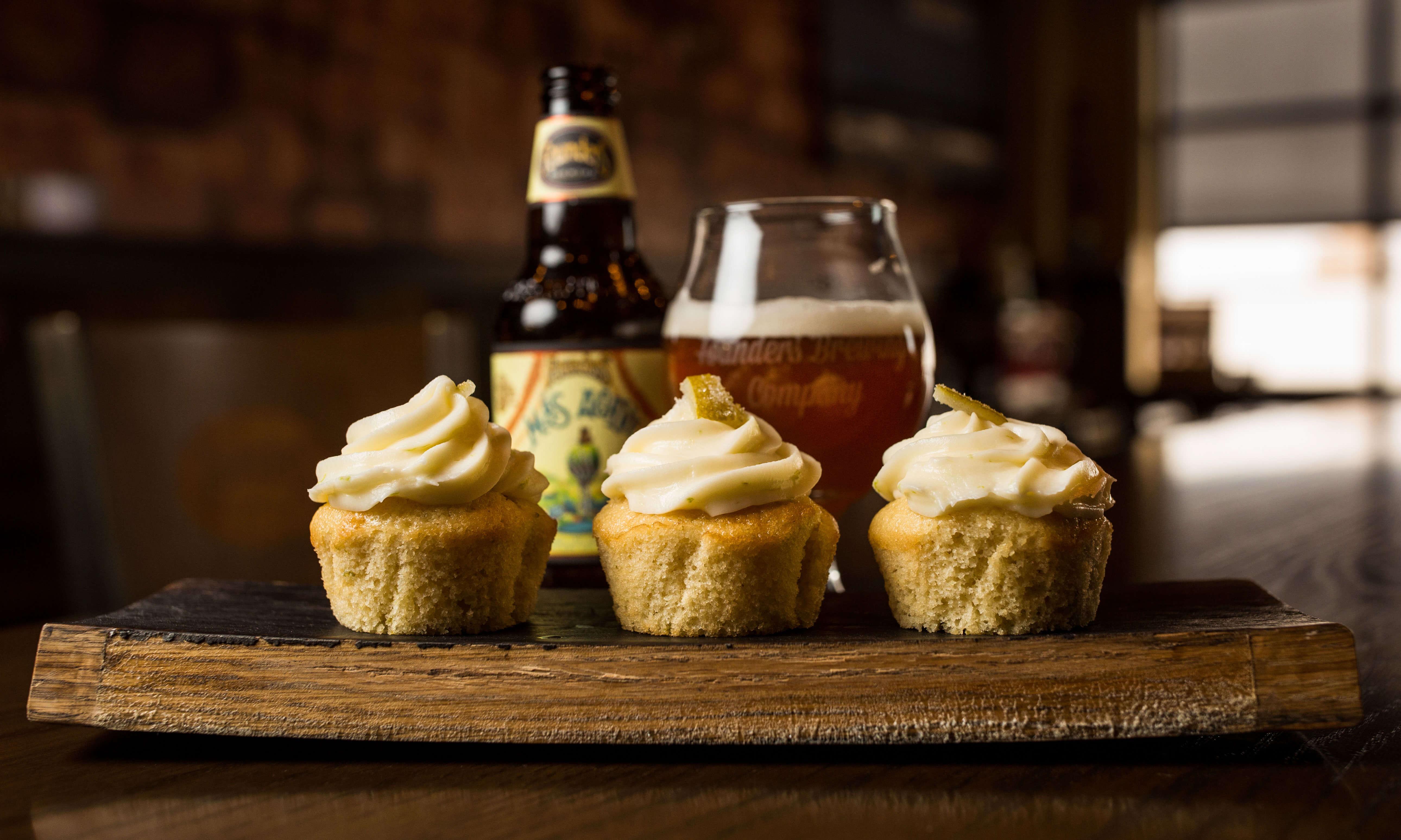 Founders Más Agave cupcakes