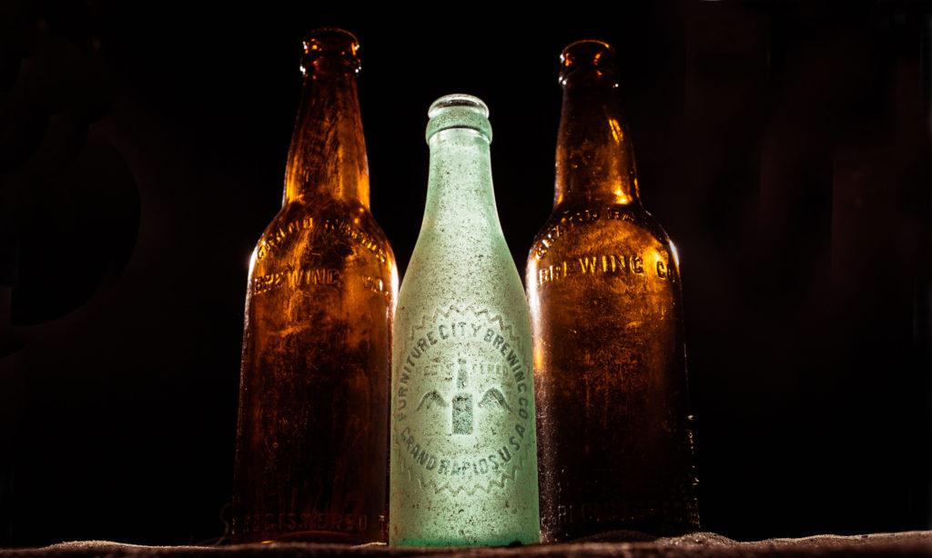 Pre Prohibition Era beer bottles