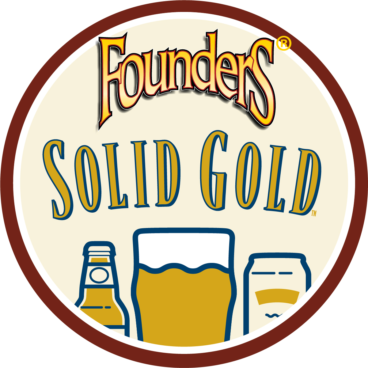 Founders Solid Gold badge