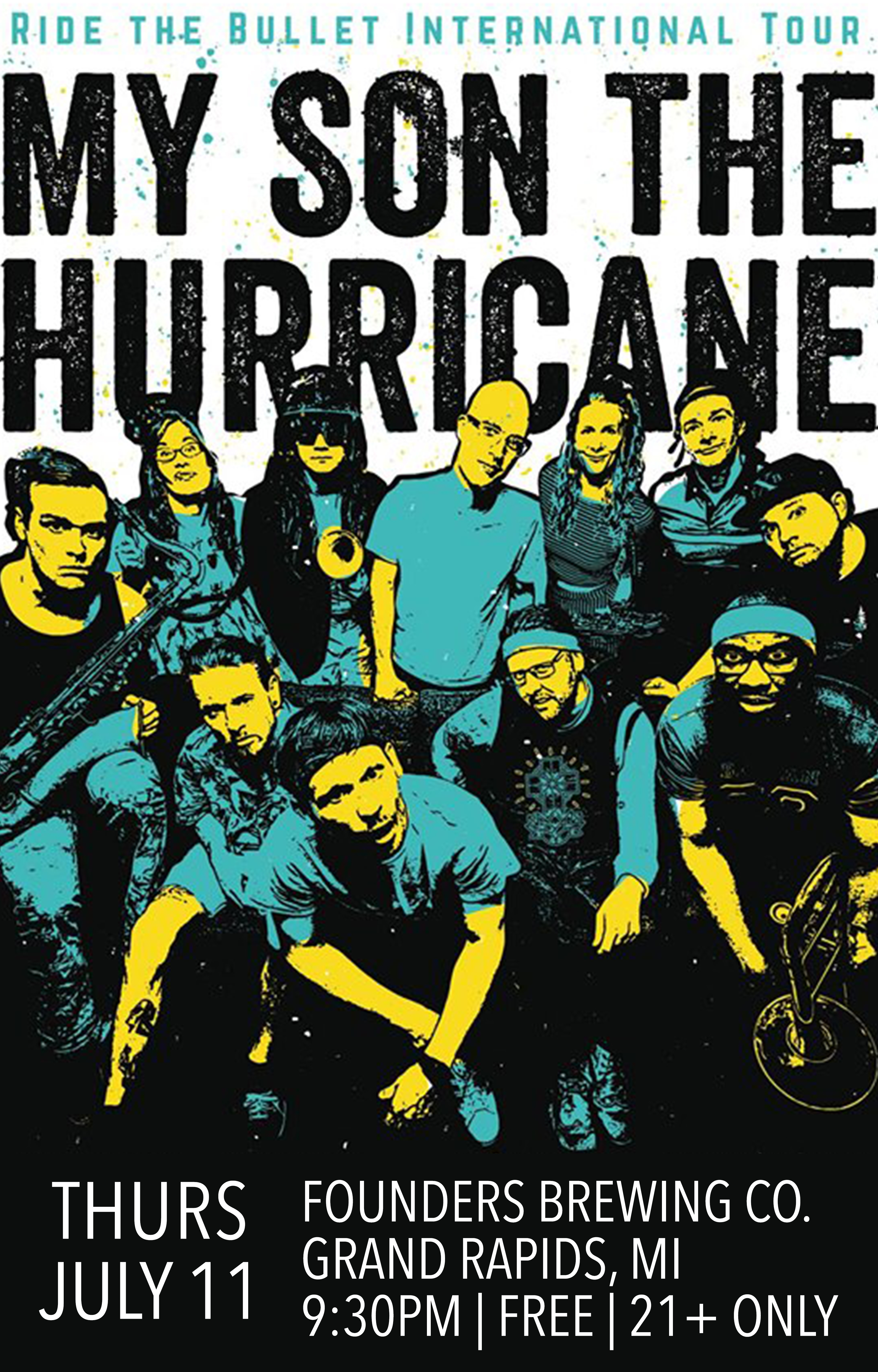 My Son The Hurricane event poster