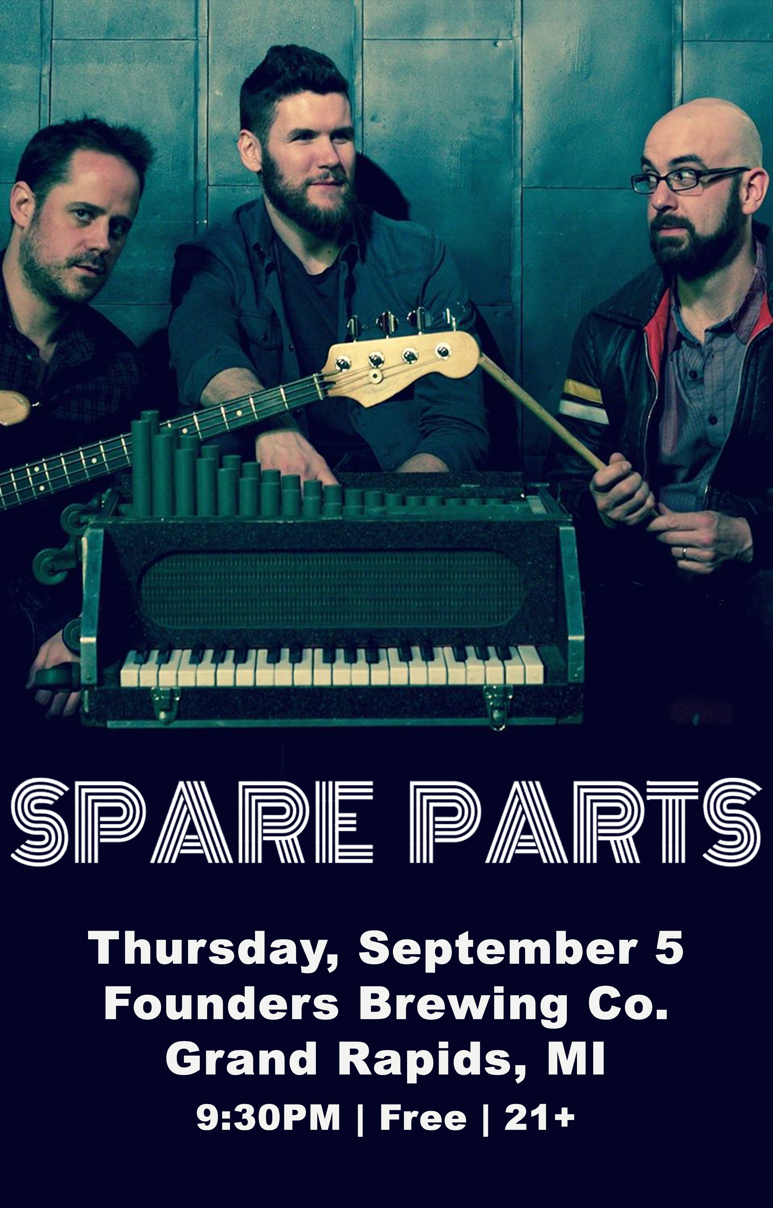 Spare Parts event poster