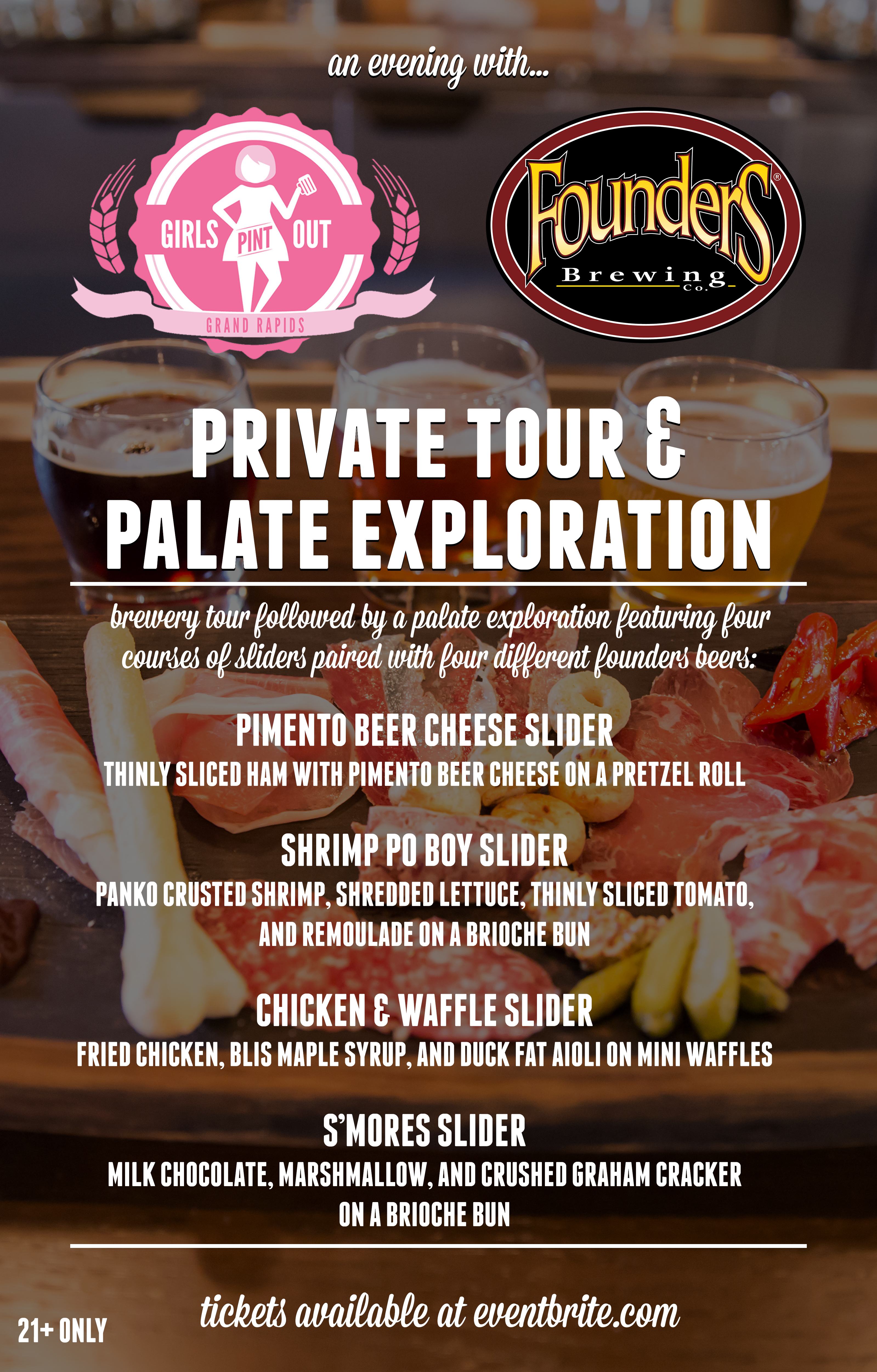 Founders Private Tour & Exploration event poster