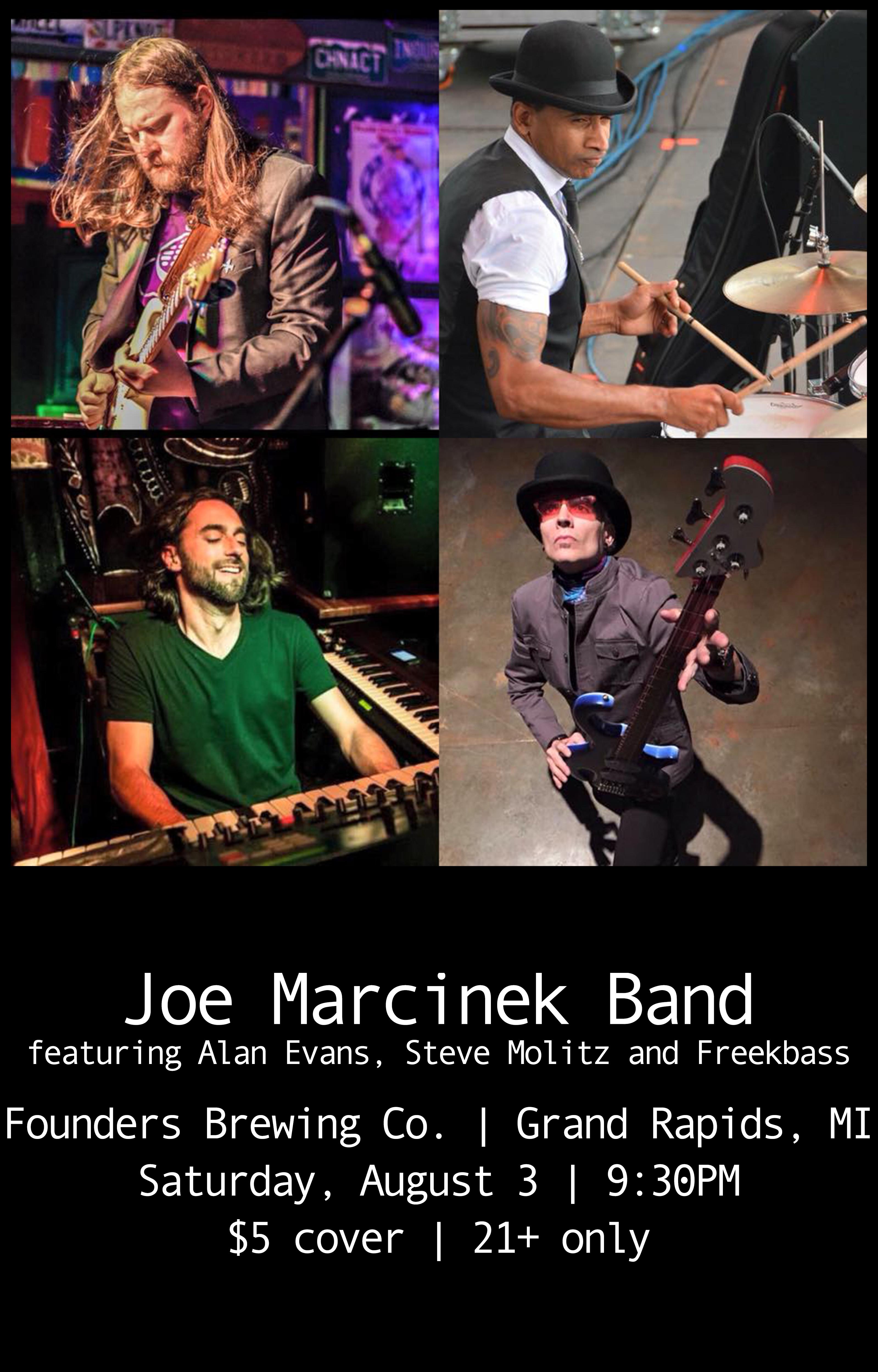 Joe Marcinek event poster